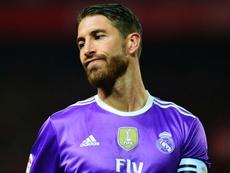 Sergio Ramos running. Goal