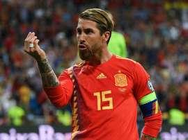 Spain coach Moreno hails record-breaking Ramos