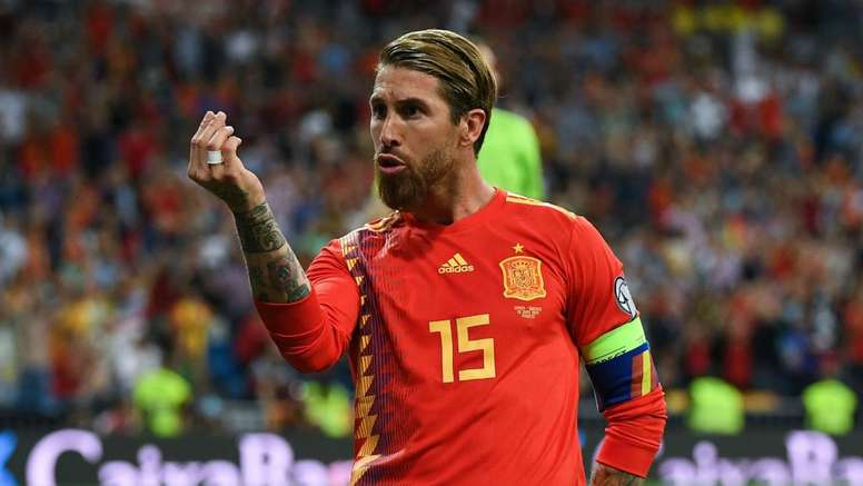 Moreno has praised Ramos for wanting to play at the Olympics. GOAL