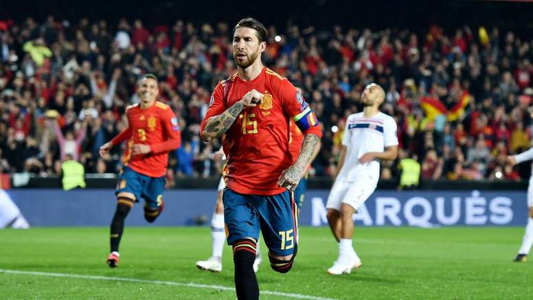 Ramos wants to play at the Olympics. GOAL