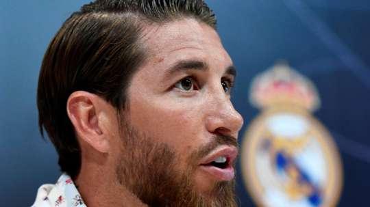 'Estamos com Zizou até a morte', garante Sergio Ramos. GOAL