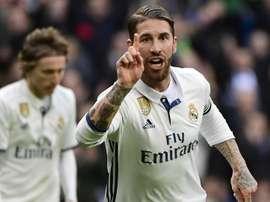 Sergio Ramos Real Madrid Malaga LaLiga 21012017. Goal