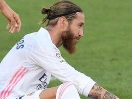Real Madrid mostra dependência de Sergio Ramos. EFE