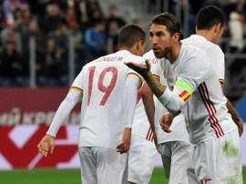 Sergio Ramos, Espagne-Russie. GOAL