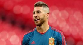 Sergio Ramos Spain. Goal