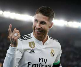 Ramos reached the landmark with a penalty against Leganes. GOAL