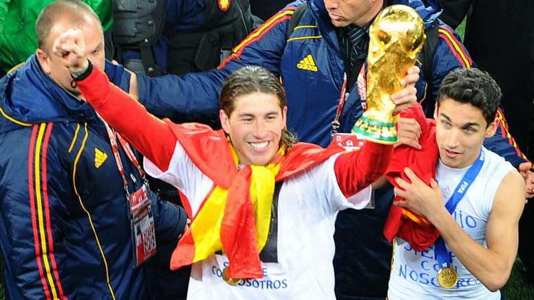 Ramos broke the record. GOAL