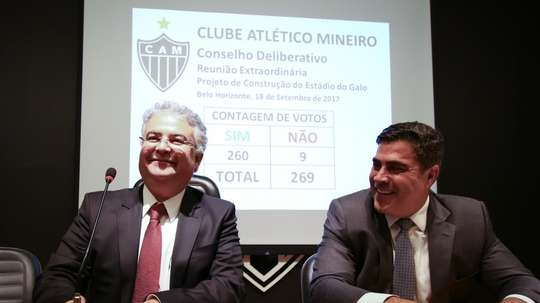 Galo aponta CBF. Goal