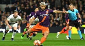 Aguero missed from the penalty spot last night. GOAL