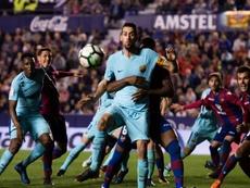 Barcelona's Levante blowout angers Valverde