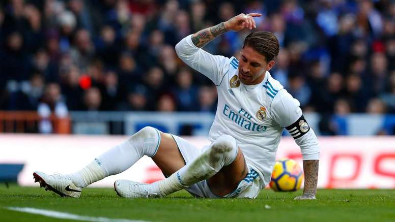 Ramos made a controversial comment about ousted Catalan leader Carles Puigdemont. GOAL