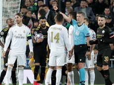 Sergio Ramos equals Champions League record with another red card. GOAL