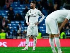 Ramos slams 'scandalous' refereeing after Real Madrid loss.