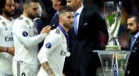 Sergio Ramos. Goal