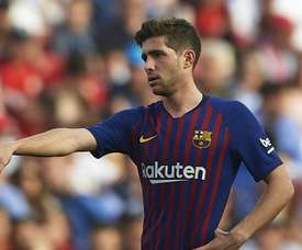 Sergi Roberto believes there's still a lot to play for. GOAL