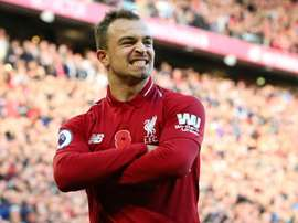 Shaqiri says the players aren't nervous, just the fans. GOAL