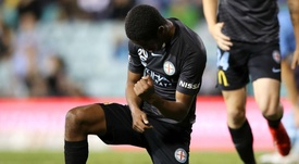 Shayon Harrison was the hero for Melbourne City. GOAL