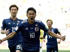 Super sub Kagawa on his debut for Besiktas. GOAL