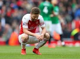 Arsenal ne fait que match nul face à Brighton. Goal