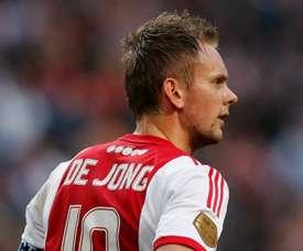 Siem de Jong has joined Sydney on loan. Goal