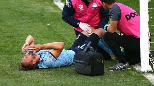 De Jong was left needing treatment. GOAL