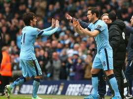 Silva: Lampard is fantastic. GOAL