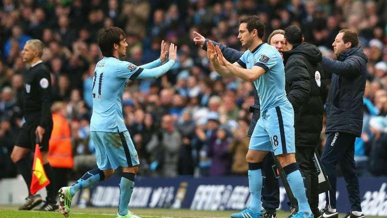 Silva: Lampard is fantastic. GOAL