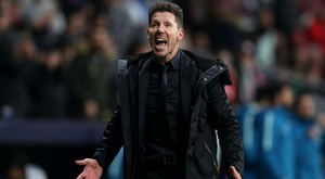Simeone charged by UEFA with improper conduct. GOAL