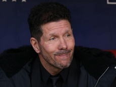 Simeone neglected to blame controversial VAR decisions for his side's defeat. GOAL
