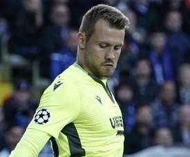 Mignolet était plus qu'heureux du résultat au Bernabéu. Goal