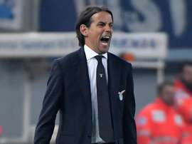 Inzaghi prima di Lazio-Parma. Goal