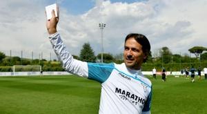 L'allenatore della Lazio Simone Inzaghi. Goal