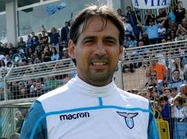 Simone Inzaghi will be at Lazio next season. GOAL