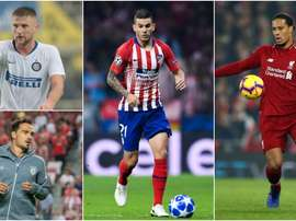 The top defenders in Europe. GOAL