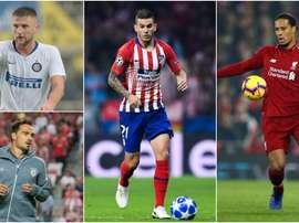 The top defenders in Europe. GOAL