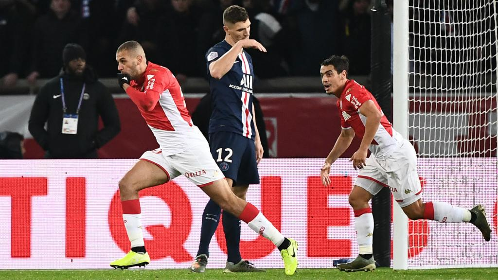 Paris Saint-Germain's defence exposed in 3-3 draw with AS Monaco