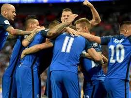 Slovakia defeated Denmark 3-0 on Wednesday night. GOAL