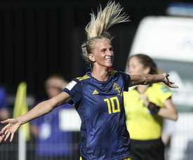 Sweden striker promised to play for her brother at the Women's World Cup. GOAL