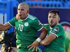 Sofiane Feghouli. Goal
