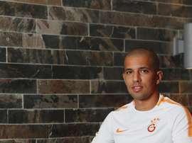 Sofiane Feghouli, nouveau joueur du Galatasaray. GOAL