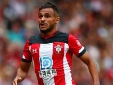 Boufal injured running into table. GOAL