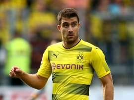 Dortmund ne veut pas vendre Sokratis. GOAL