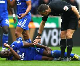 Cardiff's worst fears confirmed as Bamba ruptures ACL. GOAL