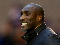 Sol Campbell steered Macclesfield to safety. GOAL