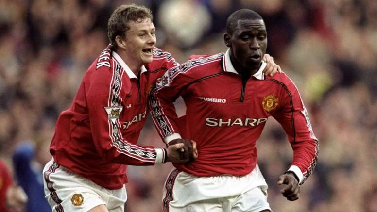 Solskjaer and Cole were two of United's key strikers back in 1999. GOAL
