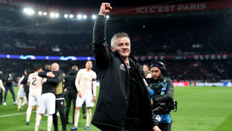 Ole Gunnar Solskjaer is aiming for a treble at United. GOAL
