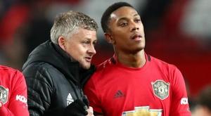 Solskjaer defends misfiring Man United forward Martial