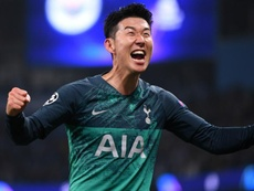 Son dreaming big with Spurs