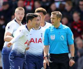 Pochettino had no problems with Son's dismissal against Bournemouth. GOAL