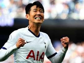 Son Heung-Min, premier asiatique dans la liste du Ballon d'Or depuis 2007. Goal